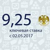 Ключевая ставка с 28 апреля 2017 года
